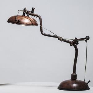 Lampe floteur cuivre