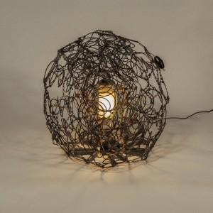 Lampe  ressorts scaphandre